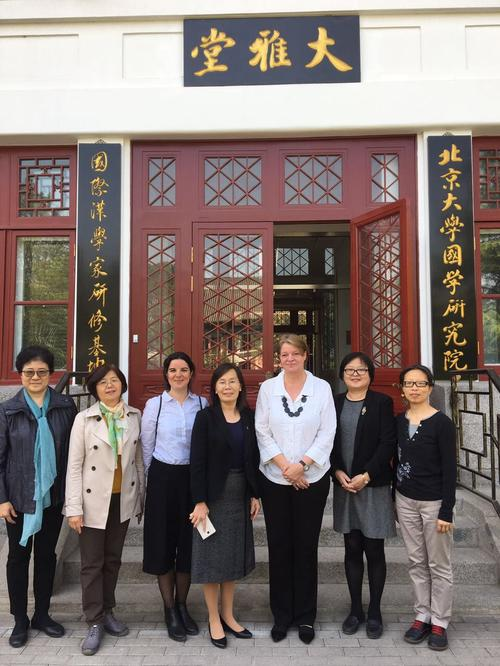 Cooperations in China: group portrait