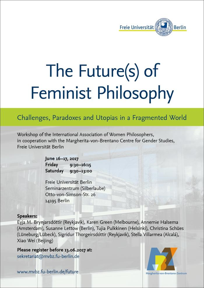 "Workshop ""The Future(s) of Feminist Philosophy"""