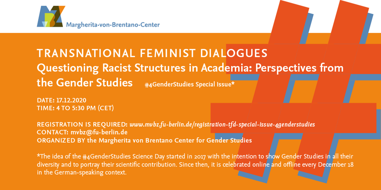 Transnational Feminist Dialogues: #4GenderStudies Special Issue