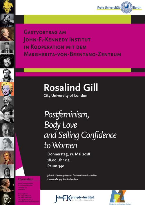 Lecture Rosalind Gill 17.5.2018