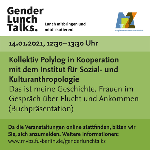 Gender Lunch Talks, 14.01.2021