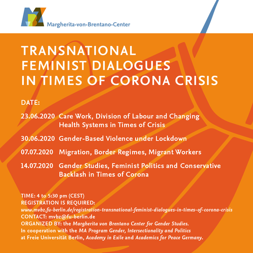 Transnational Feminist Dialogues in Times of Corona Crisis