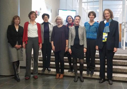 Participants in the Margherita von Brentano Center's inaugural Board of Directors meeting