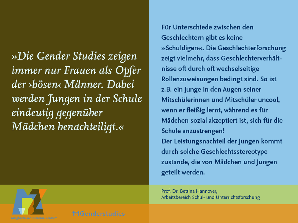 Wissenschaftstag #4genderstudies 2019